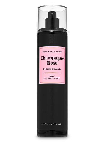 Champagne Rose Fine Fragrance Mist - Bath And Body Works