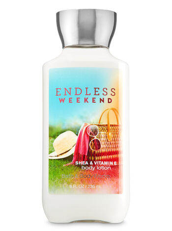 Signature Collection Endless Weekend Body Lotion - Bath And Body Works