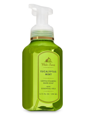 White Barn Eucalyptus Mint Gentle Foaming Hand Soap - Bath And Body Works
