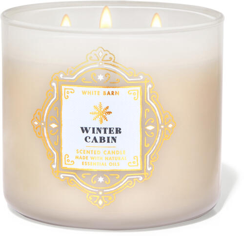 Winter Cabin 3-Wick Candle