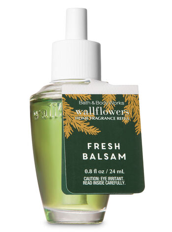 Fresh Balsam Wallflowers Fragrance Refill - Bath And Body Works