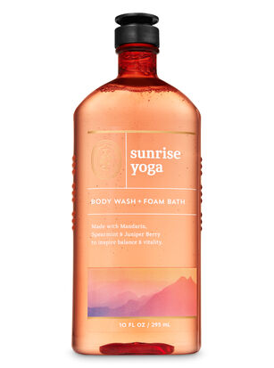 Sunrise Yoga Body Wash and Foam Bath