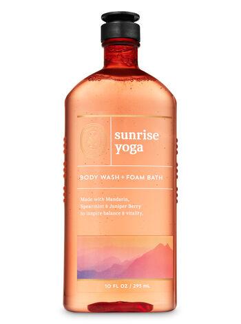 Sunrise Yoga Body Wash and Foam Bath
