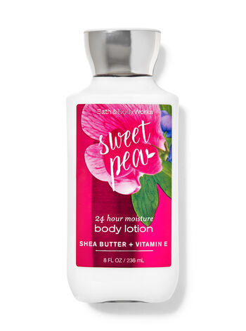Signature Collection   Sweet Pea   Super Smooth Body Lotion