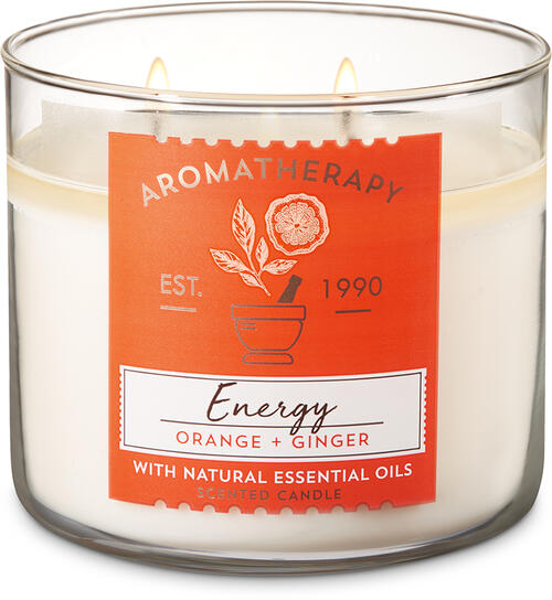 Orange Ginger 3-Wick Candle