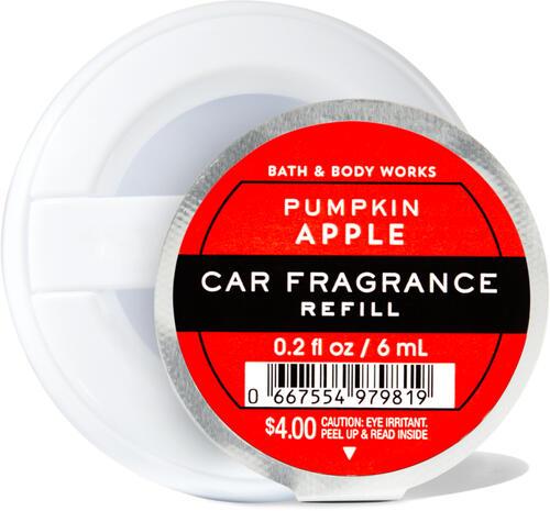 Pumpkin Apple Car Fragrance Refill