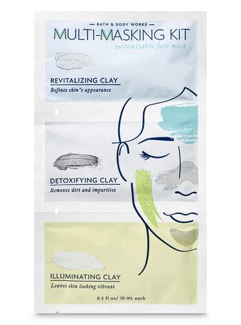 Revitalizing, Detoxifying & Illuminating Face Mask Kit