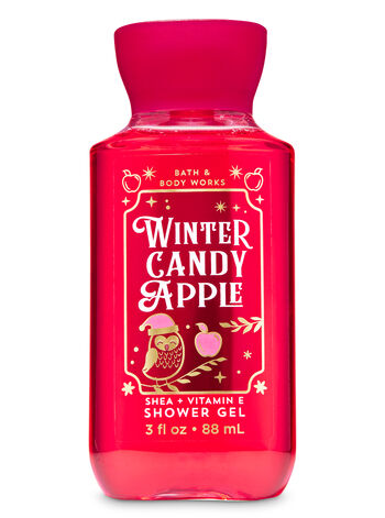 Winter Candy Apple Travel Size Shower Gel - Bath And Body Works