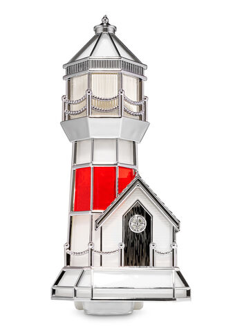 Stained Glass Lighthouse Nightlight Wallflowers Fragrance Plug