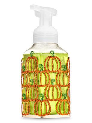 Glittery Pumpkins Gentle Foaming Soap Holder