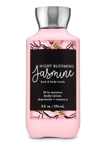 Night Blooming Jasmine Super Smooth Body Lotion - Bath And Body Works