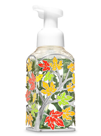 Colorful Leaves Gentle Foaming Soap Holder - Bath And Body Works