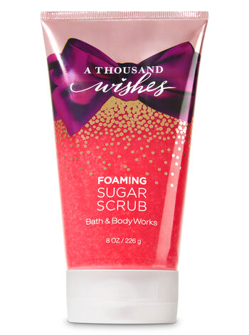 Signature Collection A Thousand Wishes Foaming Sugar Scrub - Bath And Body Works