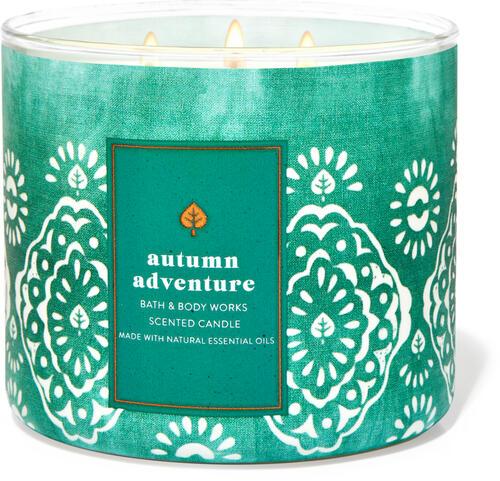 Autumn Adventure 3-Wick Candle