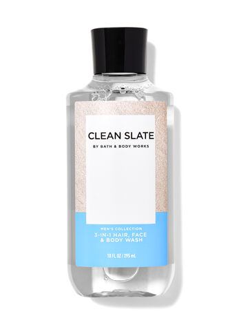 Clean Slate 3-in-1 Hair, Face & Body Wash