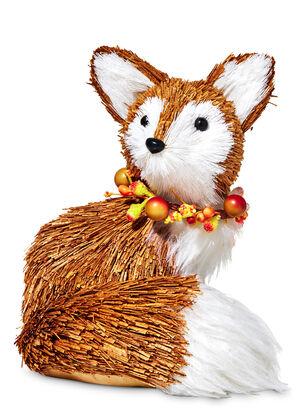 Fall Fox Figurine