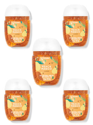 Peach Mango PocketBac Hand Sanitizers, 5-Pack