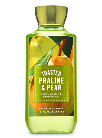 Toasted Praline & Pear Shower Gel - Bath And Body Works