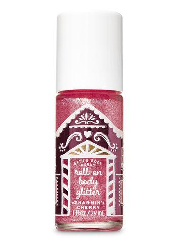 Charmin' Cherry Roll-On Body Glitter - Bath And Body Works