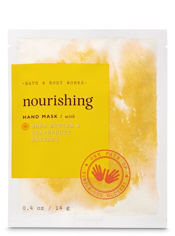 Nourishing with Shea Butter & Grapefruit Extract Hand Mask