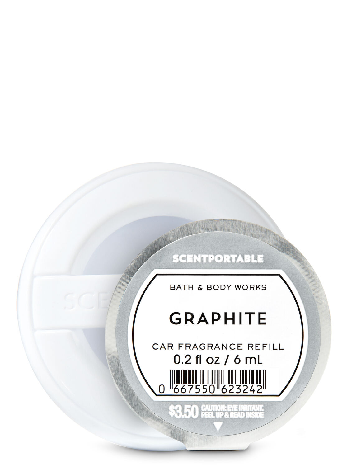 Graphite Car Fragrance Refill