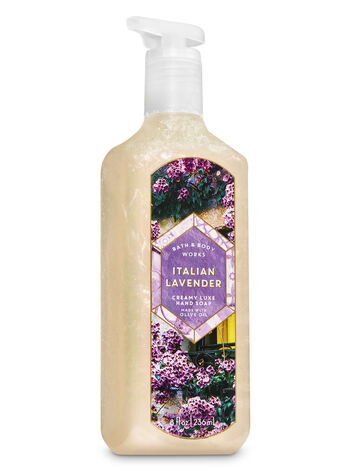 Italian Lavender Creamy Luxe Hand Soap - Bath And Body Works
