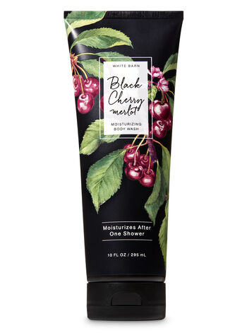 Black Cherry Merlot Moisturizing Body Wash - Bath And Body Works
