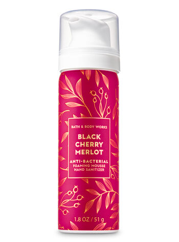 Black Cherry Merlot Foaming Hand Sanitizer - Bath And Body Works