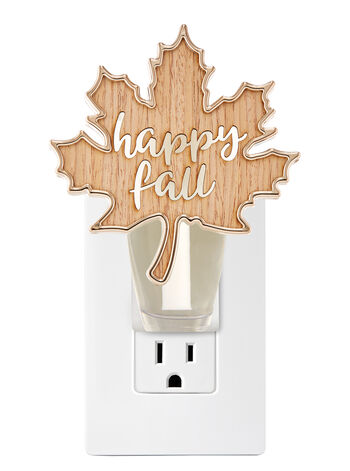 Happy Fall Leaf Nightlight Wallflowers Fragrance Plug