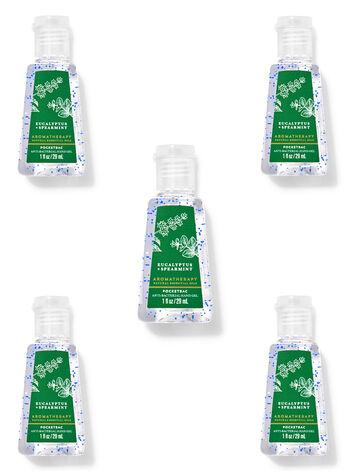 Eucalyptus Spearmint PocketBac Hand Sanitizers, 5-Pack