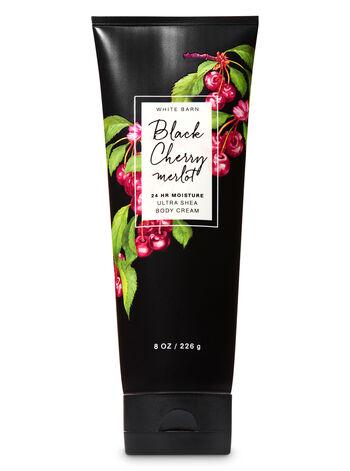 Black Cherry Merlot Ultra Shea Body Cream - Bath And Body Works