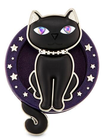 Glamourous Kitty Visor Clip Car Fragrance Holder