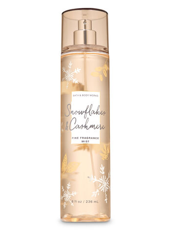 Snowflakes & Cashmere Fine Fragrance Mist - Bath And Body Works