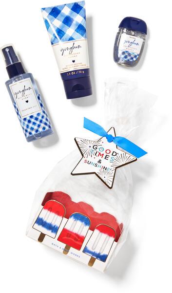 Gingham Mini Gift Set