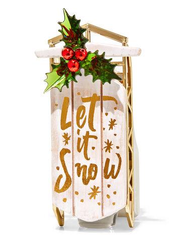 Let it Snow Sled Wallflowers Fragrance Plug
