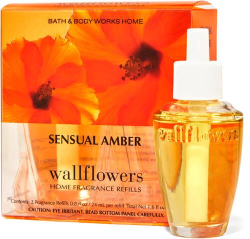 Sensual Amber Wallflowers Refills, 2-Pack
