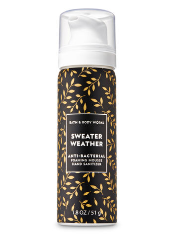 Sweater Weather Foaming Hand Sanitizer - Bath And Body Works