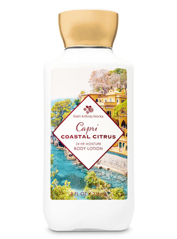 Signature Collection Capri Coastal Citrus Super Smooth Body Lotion - Bath And Body Works