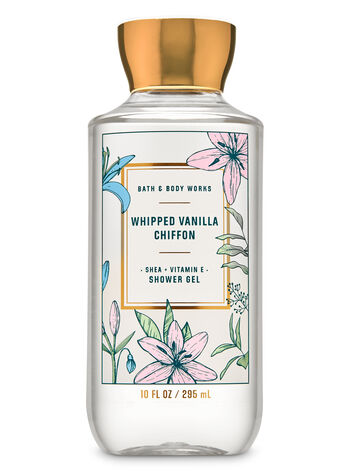 Whipped Vanilla Chiffon Shower Gel - Bath And Body Works