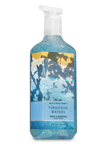 Turquoise Waters Deep Cleansing Hand Soap - Bath And Body Works