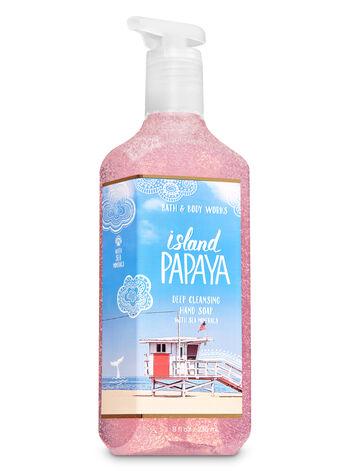 Island Papaya Deep Cleansing Hand Soap - Bath And Body Works