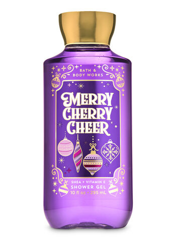 Merry Cherry Cheer Shower Gel - Bath And Body Works