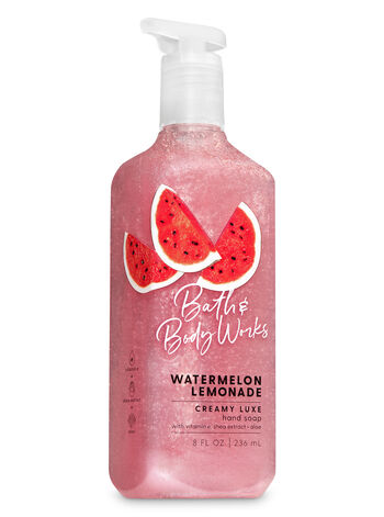 Watermelon Lemonade Creamy Luxe Hand Soap - Bath And Body Works