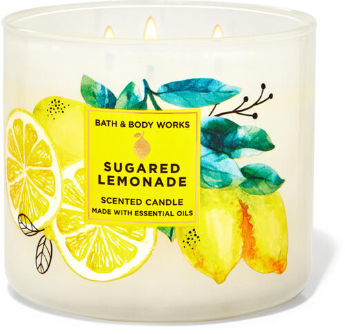 Sugared Lemonade 3-Wick Candle