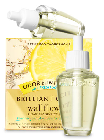 Brilliant Citrus Odor Eliminating Wallflowers Refills, 2-Pack - Bath And Body Works
