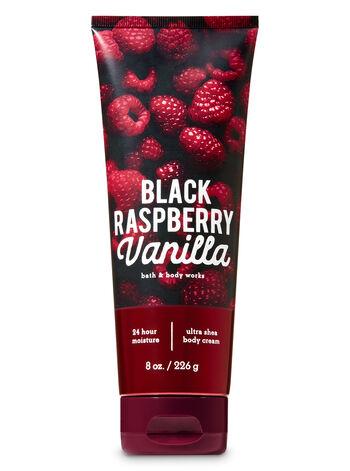 Signature Collection Black Raspberry Vanilla Ultra Shea Body Cream - Bath And Body Works