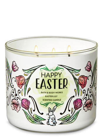 Easter Lily 3-Wick Candle - Bath And Body Works