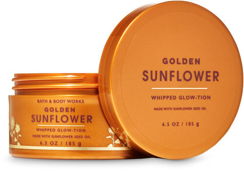 Golden Sunflower Whipped Glow-tion
