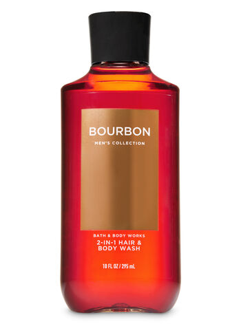 Signature Collection Bourbon 2-in-1 Hair + Body Wash - Bath And Body Works