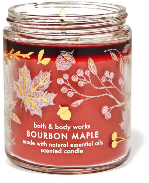 Bourbon Maple Single Wick Candle